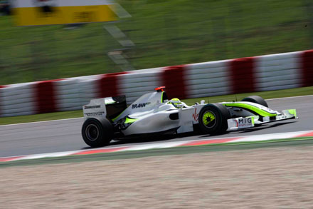 Jenson Button, campeón del mundo de fórmula 1, 2009.  © Miki López