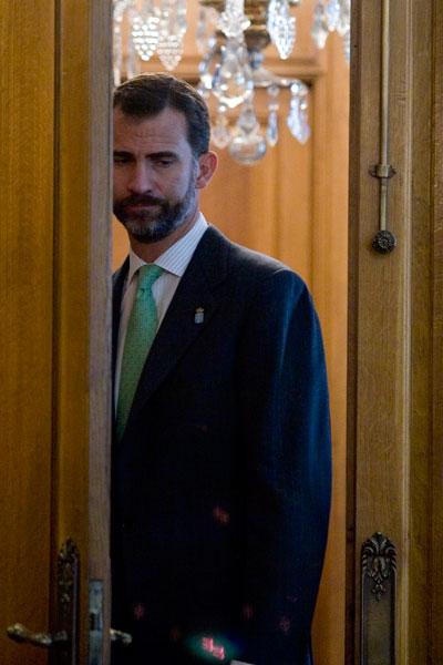 Principe Felipe, Oviedo. 22 de octubre de 2009. © Miki López