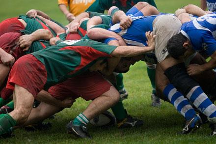 Rugby, Belenos. 24 de octubre de 2009. © Miki López
