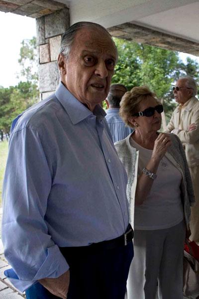 Sabino Fernández Campo, La Granda. 29 de julio de 2009. © Miki López