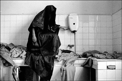 Pliegues. Pravia, septiembre de 1988. © Miki López