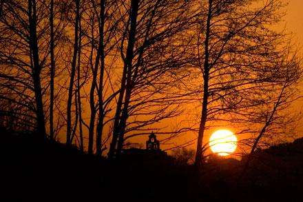 Puesta de sol en El Valle, Carreño.  © Miki López