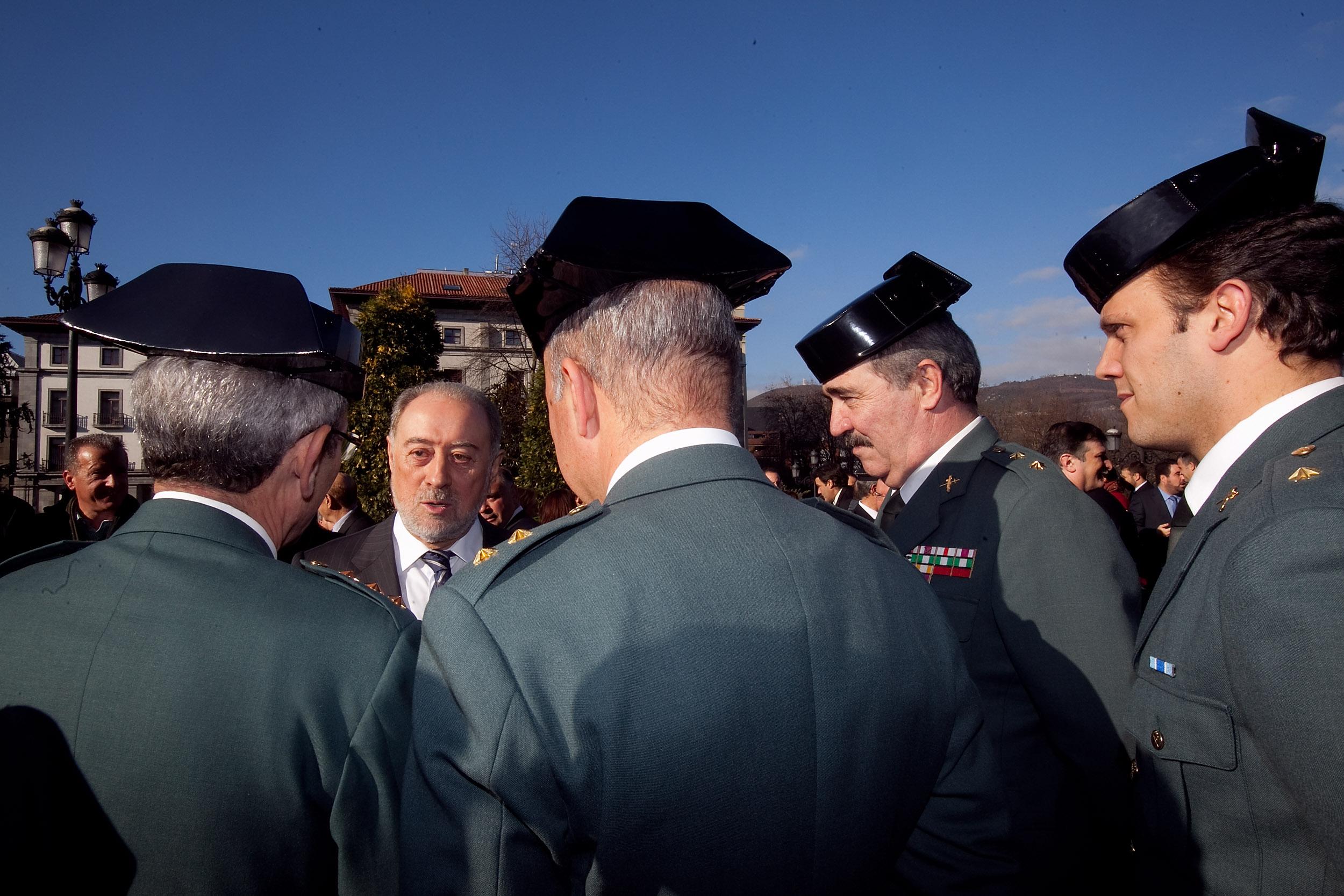 Toma de posesión de Gabino de Lorenzo como delegado del gobierno en Asturias. Enero de 2013. © Miki López/La Nueva España