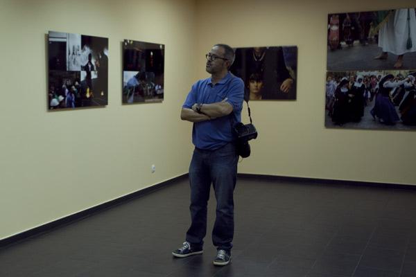 Eloy Alonso en SOTOgrafos. L'Arena, 30 de agosto de 2013. © Miki López