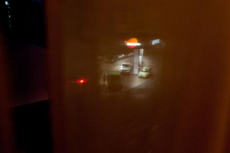 Gasolinera. Tortosa, 11 de enero de 2013