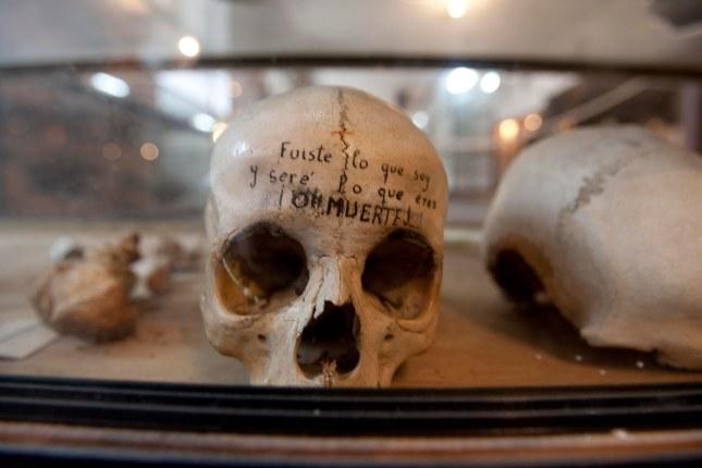 Museo del Monasterio de Corias. 14 de febrero de 2006. © Miki López