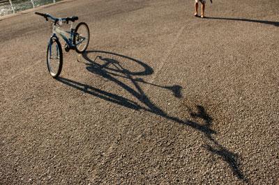 Bicicleta. San Juan de La Arena. 2014. © Miki López