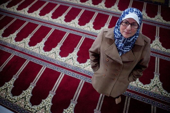 María. Mezquita de Oviedo. 19 de enero de 2015.  © Miki López/La Nueva España