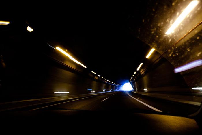 Túnel. Cudillero. 3 de enero de 2014. © Miki López