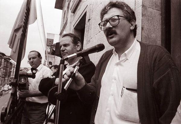 Antonio Trevín. Llanes, 1992. © Miki López