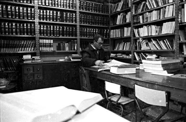 Roberto Trelles. Soto del Barco. Febrero de 1987. ©Miki López