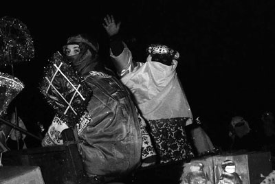 Rey Baltasar. Cabalgata de Reyes de Soto del Barco. 5 de enero de 1990. ©Miki López