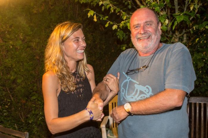 Irma Collín y Nacho Orejas. La Fresneda, 2 de septiembre de 2016. © Miki López