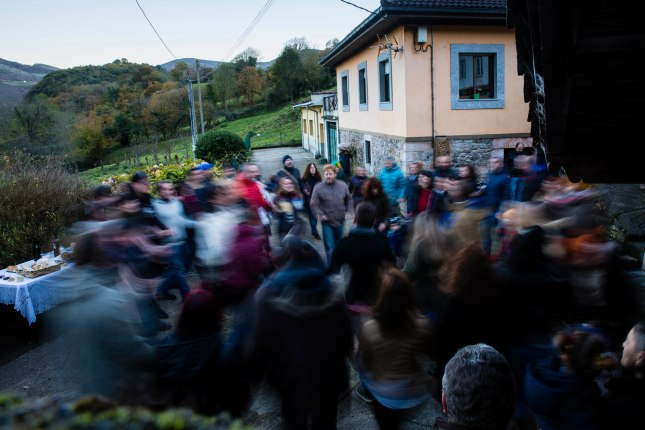 Danza. Ambás (Grao). 25 de noviembre de 2016. © Miki López